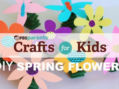 Fun and Spring-y Flowers | Crafts for Kids | PBS Parents