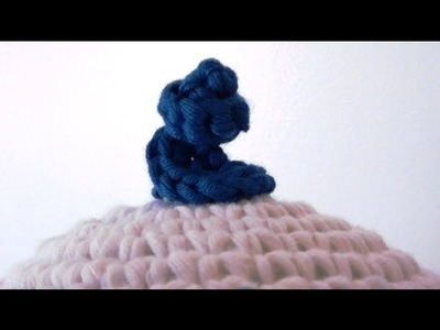 How to Crochet a Corkscrew or Swirl