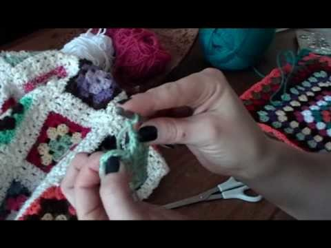 How to crochet a granny square, part 2 (of 3)