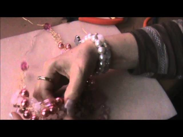 How to embellish your wire crocheted necklace Part II- REMAKE