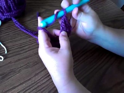 How To - Foundationless Double Crochet