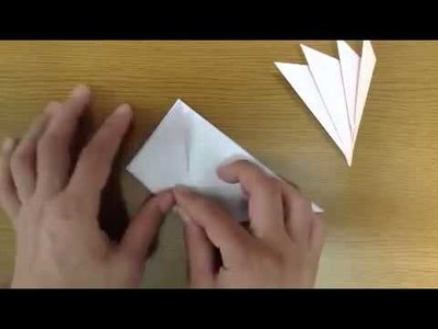 How to make a origami Jellyfish