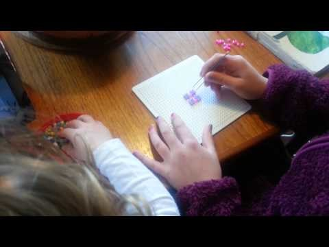 How to make a present out of hama beads