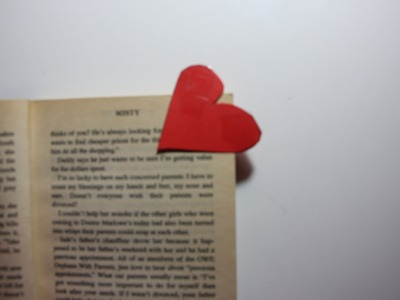 How to Make Heart Corner Bookmark (EASY) HD