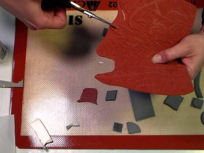 How to mount rubber stamps to use with acrylic blocks