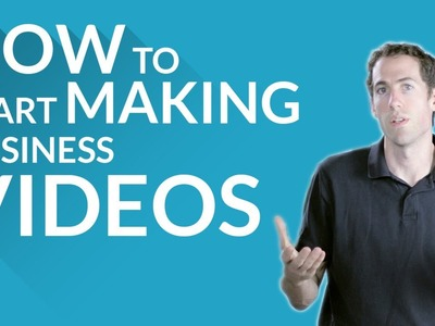 How to Start Making Business Videos DIY - Write, Shoot, Edit with Mike Tringe