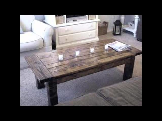 How To Use DIY Coffee Table Plans