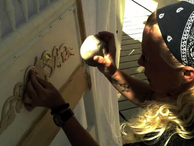Make it.  MALIBU - DIY #1 - Distressed Applique Bedframe