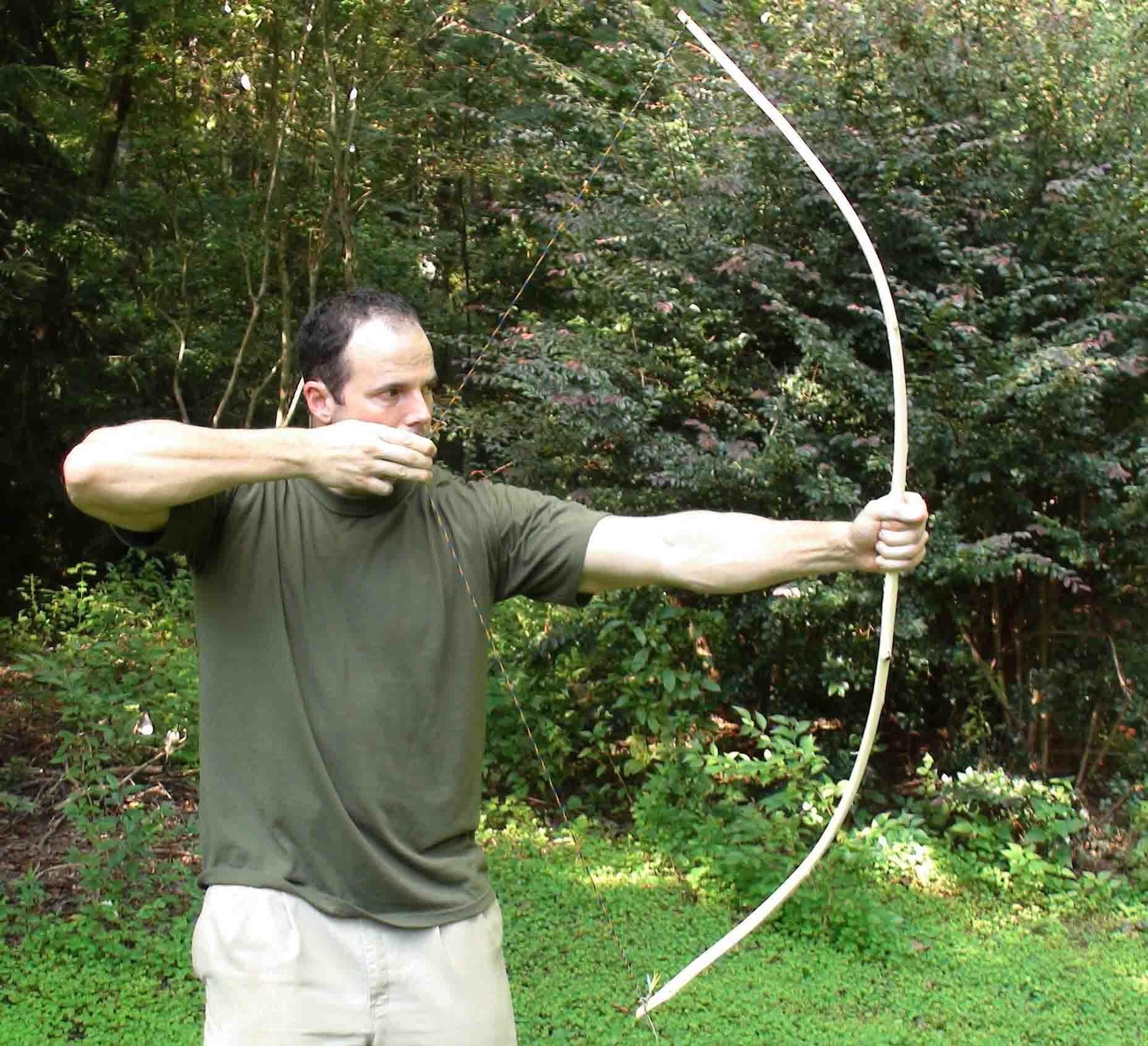 Making a Primitive Bow, Part 1.