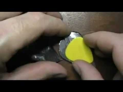 Meteorite Guitar Pick  the design crafting and testing of RELIC