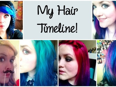 My Hair Timeline! ¦ The Corner of Craft
