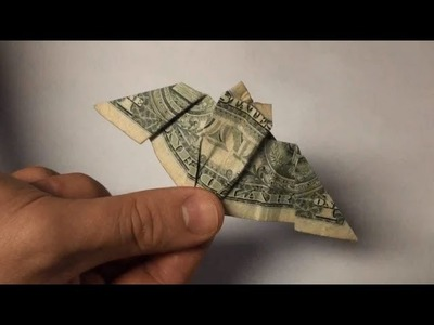 Origami Bat - Dollar Bill Paper Folding - Halloween Bats Tutorial - Full Instructions