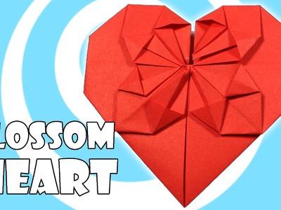 Origami Blossom Heart Tutorial