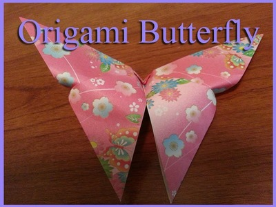 Origami Butterfly Fold
