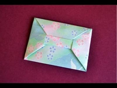 Origami Envelope Instructions: www.Origami-Fun.com