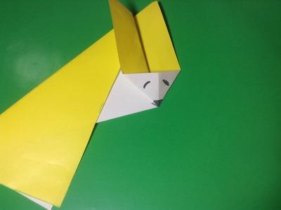 Origami How To Make Long Samurai Hat