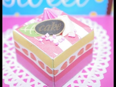 Origami Sweets: Cake Tutorial
