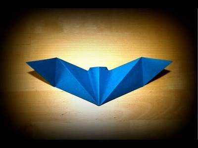 Origami tutorial for Halloween - Halloween Bat by Nick Robinson