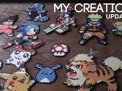 Perler \ Hama \ Pyssla Beads Creations - Update 1#