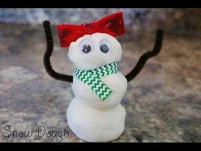 Snow Dough (Making memories and having fun!)