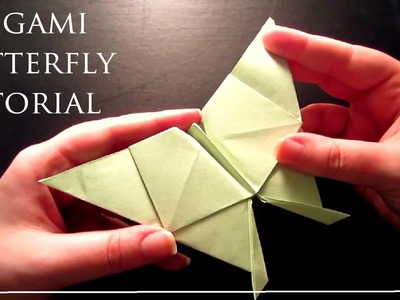 Super Simple Origami Tutorial Butterfly