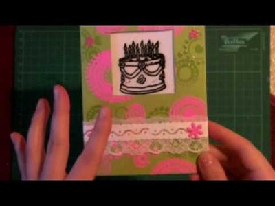 Surprise Birthday Card Tutorial Part 1 (2)
