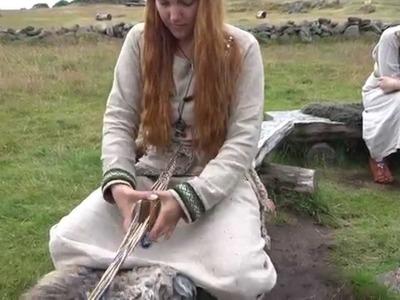 Tablet Weaving at the Iron Age Farm (Jernaldergården) in Stavanger