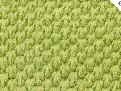 The Tunisian Ocean Stitch:: Tunisian Crochet Stitch #12 :: Right Handed