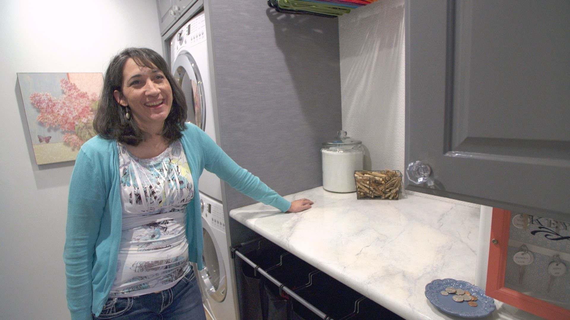 You Won't Believe What This Mother of 6 Did to Totally Rock Her Laundry Space