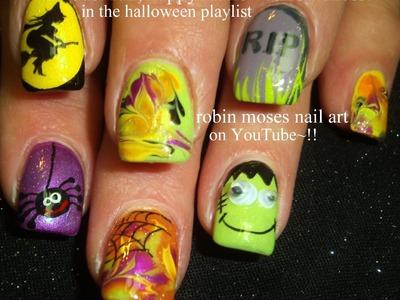 5 Nail Art Tutorials | DIY Easy Halloween Nails