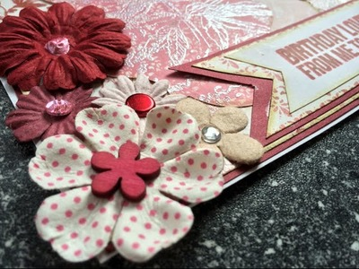 A Layered Card Tutorial (+ some footage of my favorite hot glue gun)