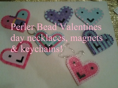 Artistic Friday Perler Bead Hearts (DIY)
