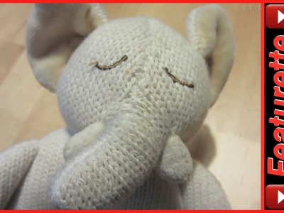 Best Knit Baby Rattle Teether Toys For Crib Rail or Stroller Made by Miyim of Organic Cotton
