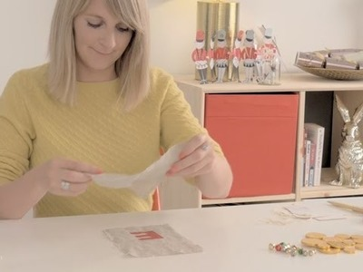 Craft corner: How to make Christmas table favours