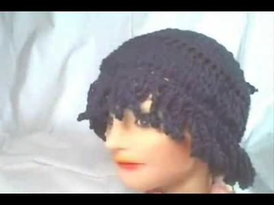 Crochet Bandana Scarf Headband with Fringes