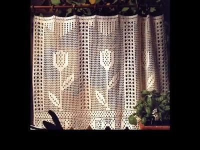 Crochet curtains tutorial