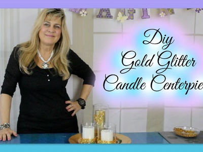 DIY Centerpiece Ideas | Candle Centerpieces | Candle Decor under $10.00 | Styroscript