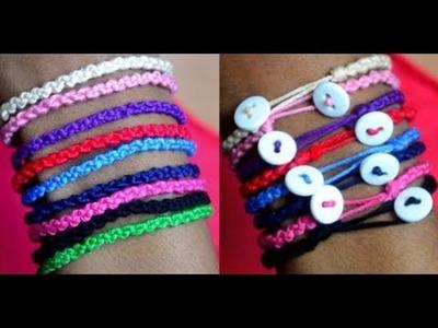 DIY Double Knot Bracelet