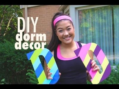 DIY: Easy & Inexpensive Dorm (or bedroom) Decor!