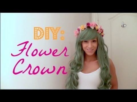 ♡ DIY: Flower Crown ♡