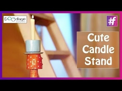 DIY : How To Make a Decorative Candle Stand