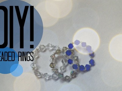 DIY| How To Make A Ring | Beaded Ring