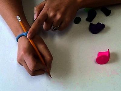 DIY Pencil Grip to Improve Handwriting