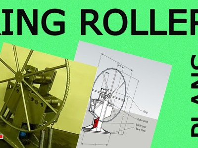 DIY Ring roller with hydraulic jack -Plans available-