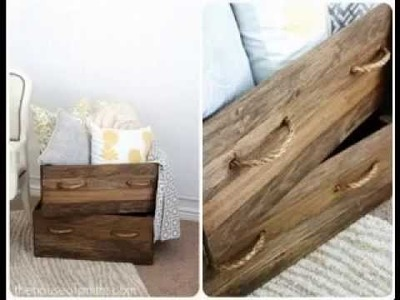DIY wood house decorating projects ideas