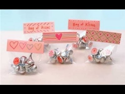Easy Valentine's Day Craft - Sweet Kisses