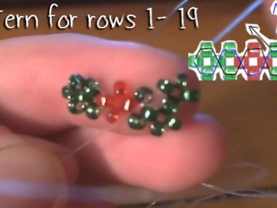 How To : 3-D Christmas Beaded Box Part 1