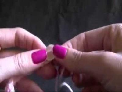 How to Crochet an Easy Bracelet Part 2