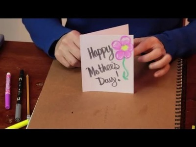 How to Decorate Your Own Mother's Day Card : Various Crafts