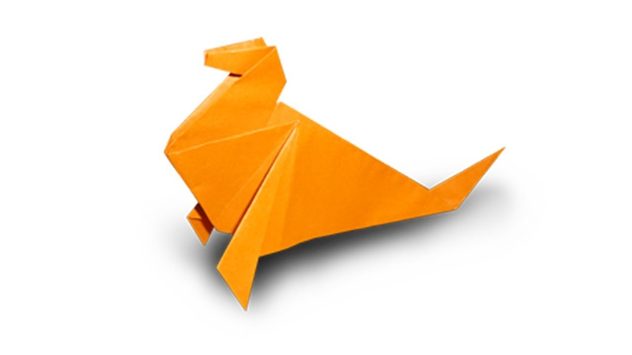 How to fold an Origami Seal